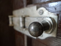 Old rusty handle Royalty Free Stock Images
