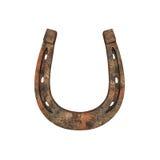 Old rusty horseshoe Royalty Free Stock Photography