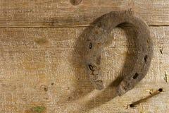 Old rusty horseshoe Stock Photography