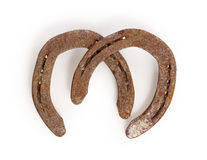 Old rusty horseshoes Royalty Free Stock Photography