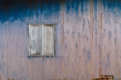 Old rusty house. Royalty Free Stock Photo