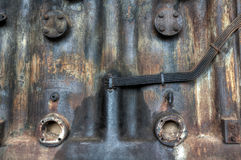 Old rusty industrial machine Stock Photos