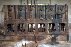Old rusty industrial machine Royalty Free Stock Image