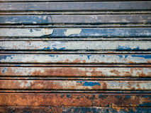 Old rusty iron door. Texture Royalty Free Stock Images