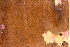 Old rusty iron metal background plate texture Stock Image