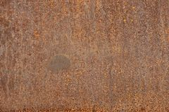 Old rusty iron plate texture Royalty Free Stock Photography