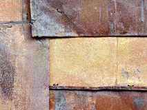 Old rusty iron sheets Royalty Free Stock Photos