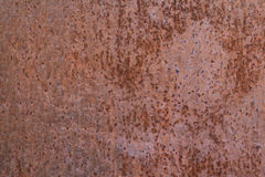 Old rusty iron wall. Background Royalty Free Stock Image