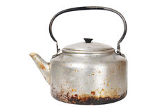 Old rusty kettle Stock Photos