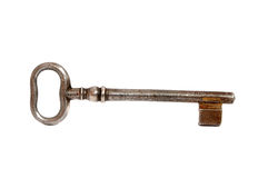 Old rusty key Royalty Free Stock Photos
