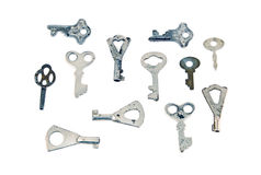 Old rusty key Royalty Free Stock Image