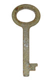 Old rusty key. Royalty Free Stock Photos