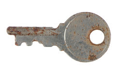 Old rusty key Stock Photography