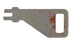 Old rusty key Royalty Free Stock Photography