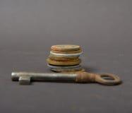 Old rusty key Royalty Free Stock Photo