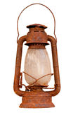 Old rusty lantern Stock Photo
