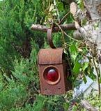 Old rusty lantern Stock Photos