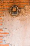 Old rusty lantern on western jail Royalty Free Stock Photo