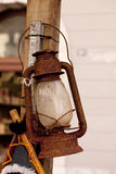 Old rusty lantern Stock Photography