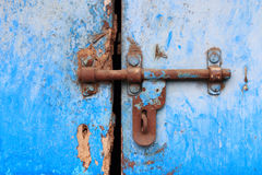 Old rusty latch Royalty Free Stock Photos