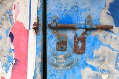 Old rusty latch Stock Photos