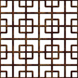 Old rusty lattice. Stock Images