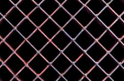 Old rusty lattice Stock Images