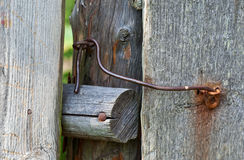Old rusty lock Royalty Free Stock Photography
