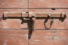 Old rusty lock Stock Image