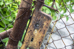 Old rusty lock Royalty Free Stock Photo
