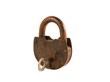 An old rusty lock Royalty Free Stock Photography