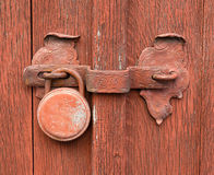 Old, rusty lock Royalty Free Stock Photo
