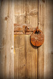 Old rusty lock Royalty Free Stock Images