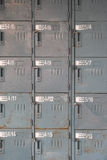 Old rusty lockers Royalty Free Stock Photography