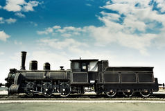 Old rusty locomotive Stock Photography