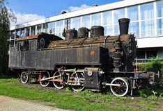 Old rusty locomotive Stock Photography