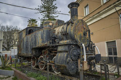 Old rusty locomotive Stock Images