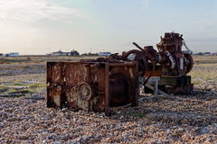 Old rusty machinery Royalty Free Stock Photos