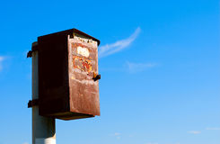 Old rusty mailbox Stock Image