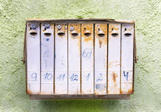 Old rusty mailbox Stock Photography