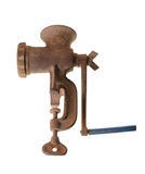 Old rusty meat grinder Royalty Free Stock Image