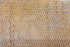 Old rusty metal background. Old rusty metal grating background Stock Photo