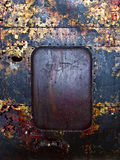 Old rusty metal background Stock Photography
