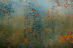 Old rusty metal background. Royalty Free Stock Photography
