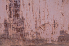 Old rusty metal background. Painted stock photography