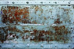 Old rusty metal background Stock Images