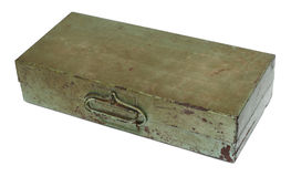 Old rusty metal box Royalty Free Stock Photos