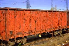 Old rusty metal door texture Stock Images