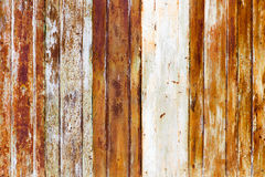 Old rusty metal fence as an abstract background Royalty Free Stock Photo