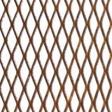 Old rusty metal lattice Stock Image